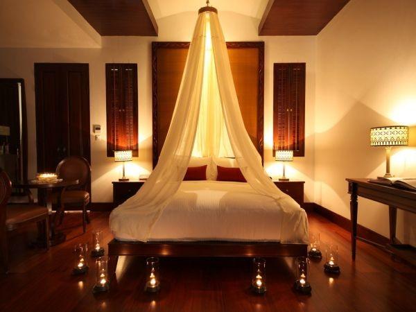 nến trang trí phòng ngủ